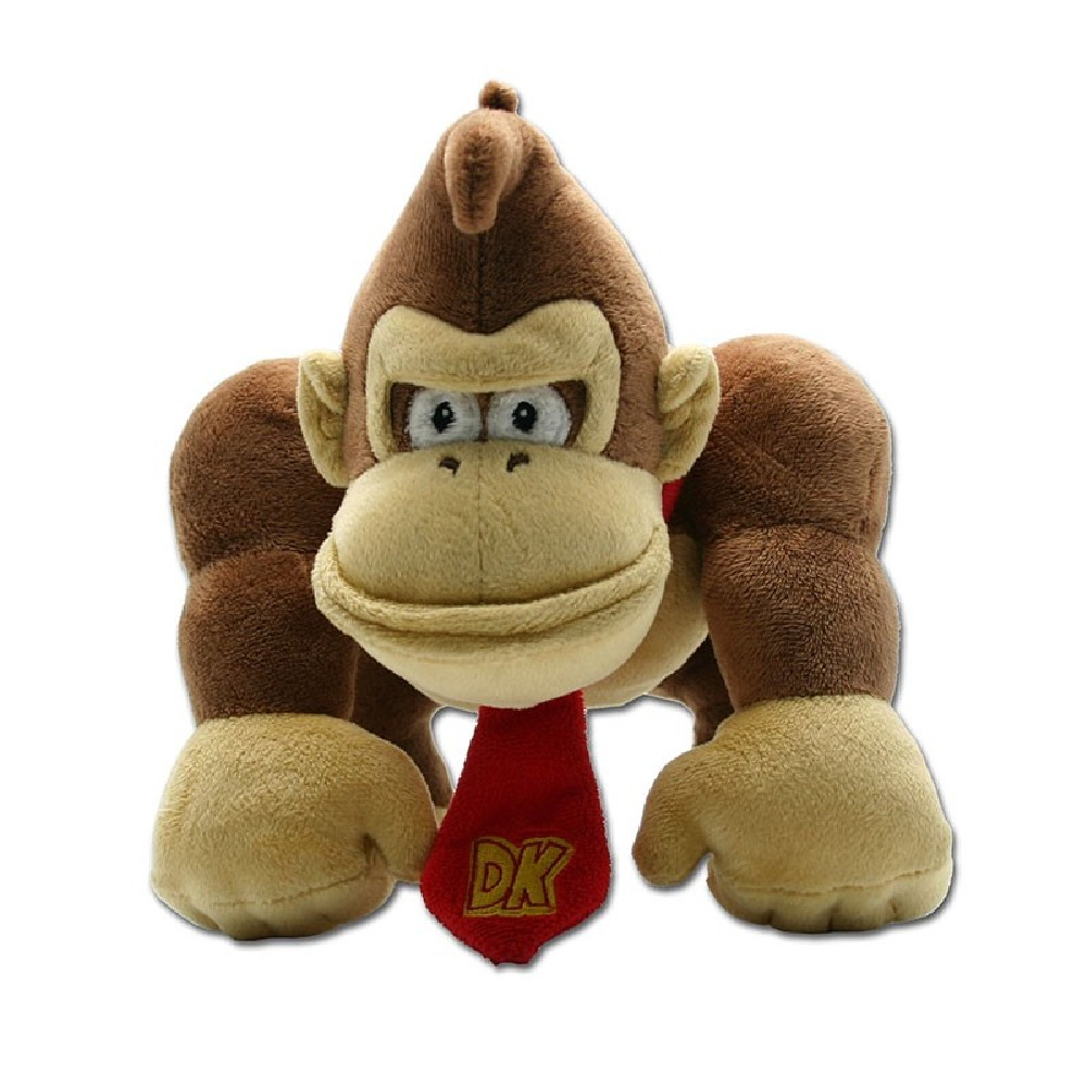 Figurina de Plus Nintendo Mario Bros 22cm Small Donkey Kong