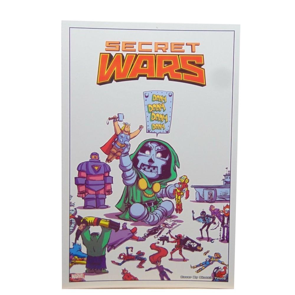 Secret Wars 01 Skottie Young Variant Lithograph