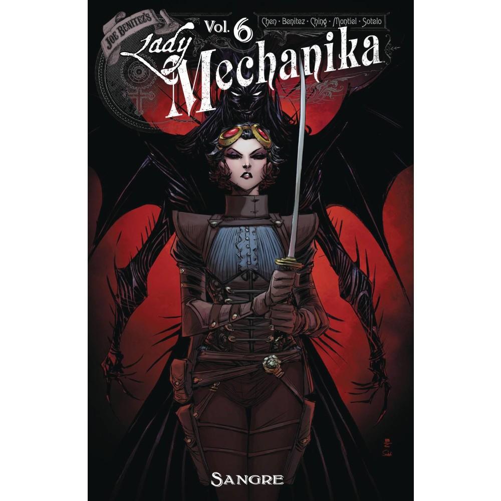 Lady Mechanika TP Vol 06 Sangre
