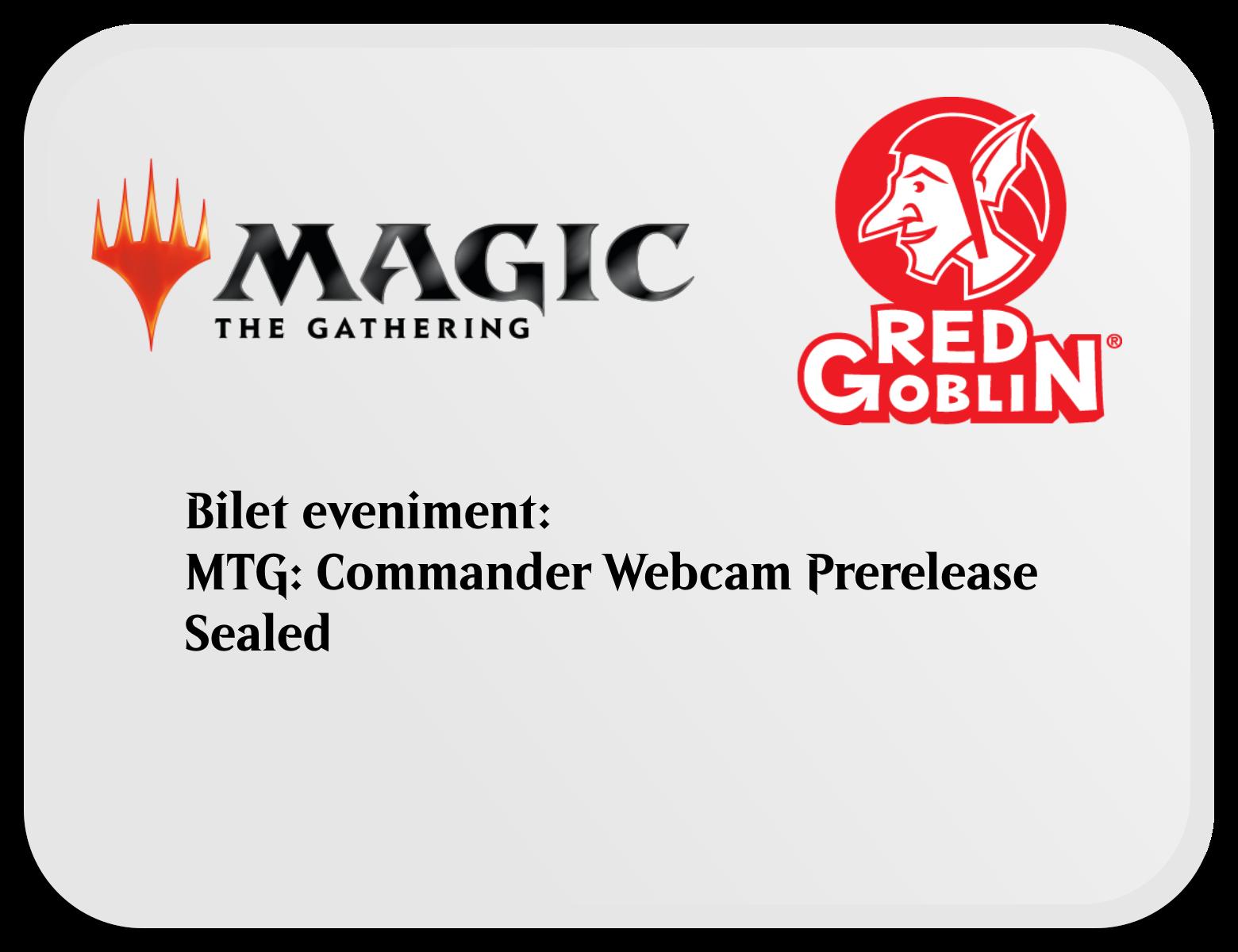 Bilet Eveniment Magic: the Gathering - Commander Sealed imagine