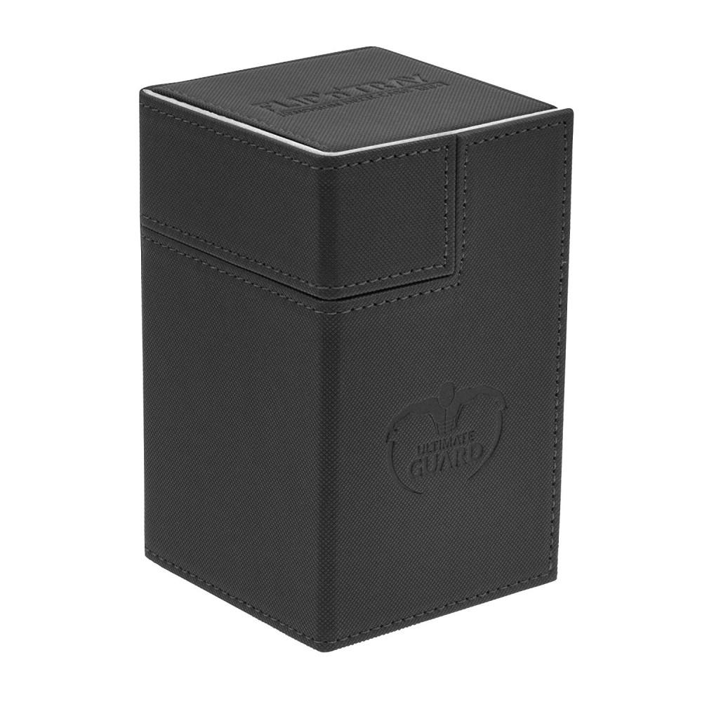 Cutie Depozitare Ultimate Guard Flip'n'Tray Deck Case 100+ Marime Standard XenoSkin Negru