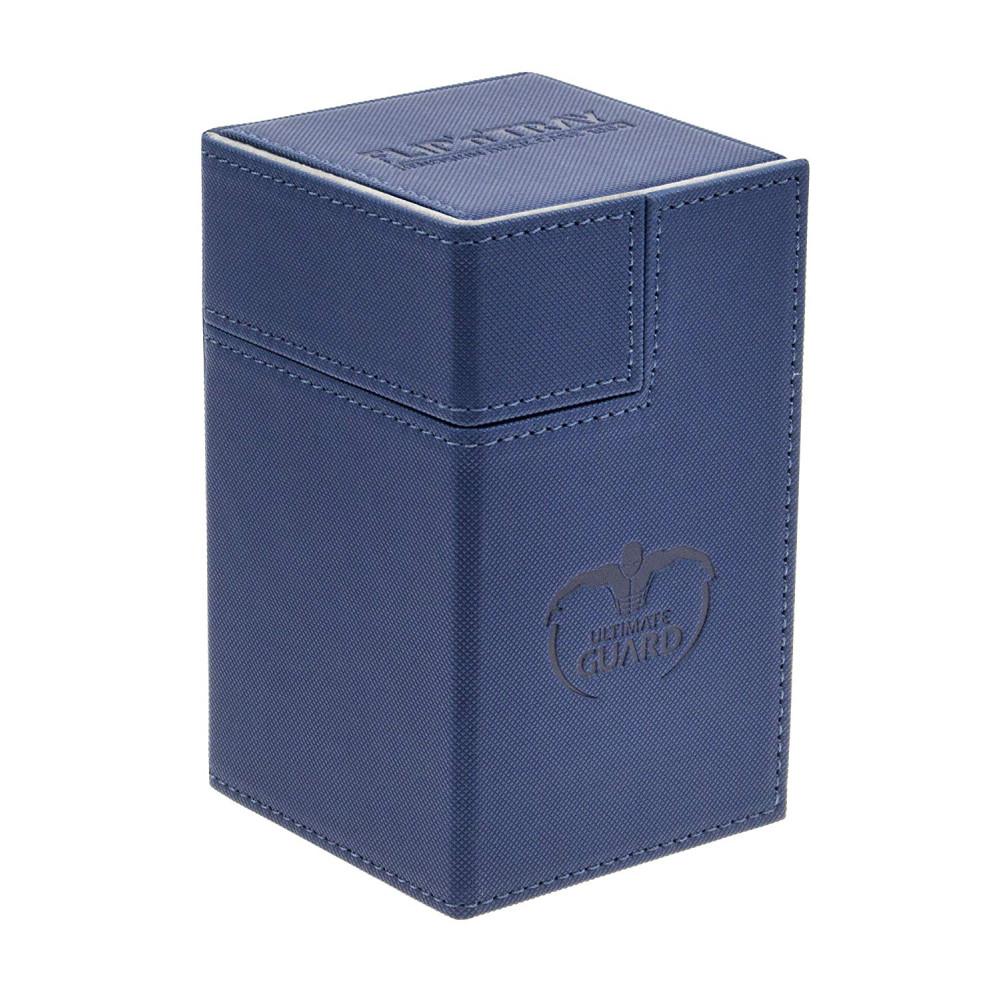 Cutie Depozitare Ultimate Guard Flip'n'Tray Deck Case 100+ Marime Standard XenoSkin Albastru