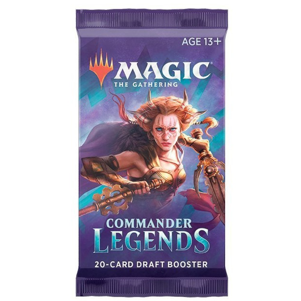 Magic the Gathering Commander Legends Draft Booster pack