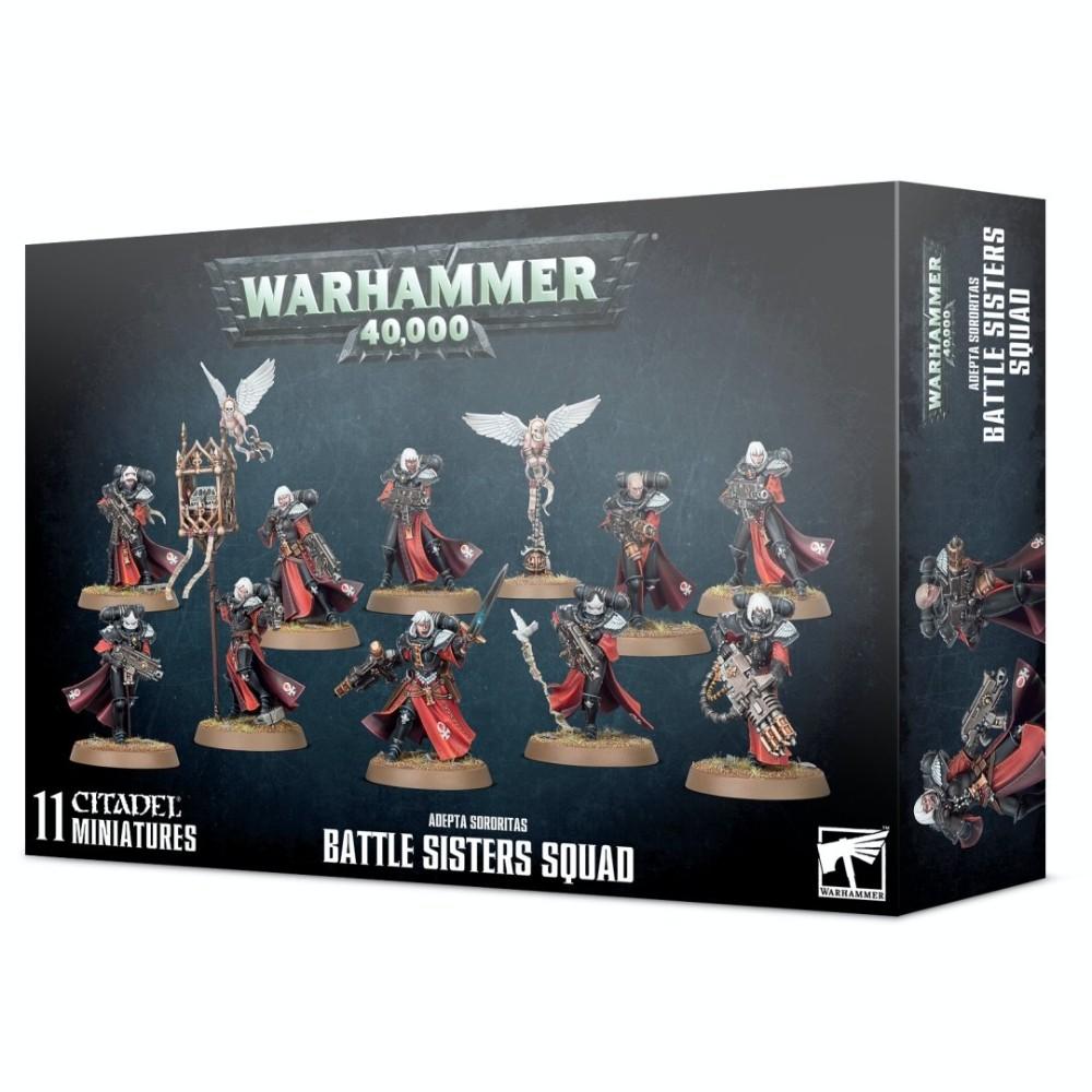 Warhammer Adeptua Sororitas Battle Sisters Squad