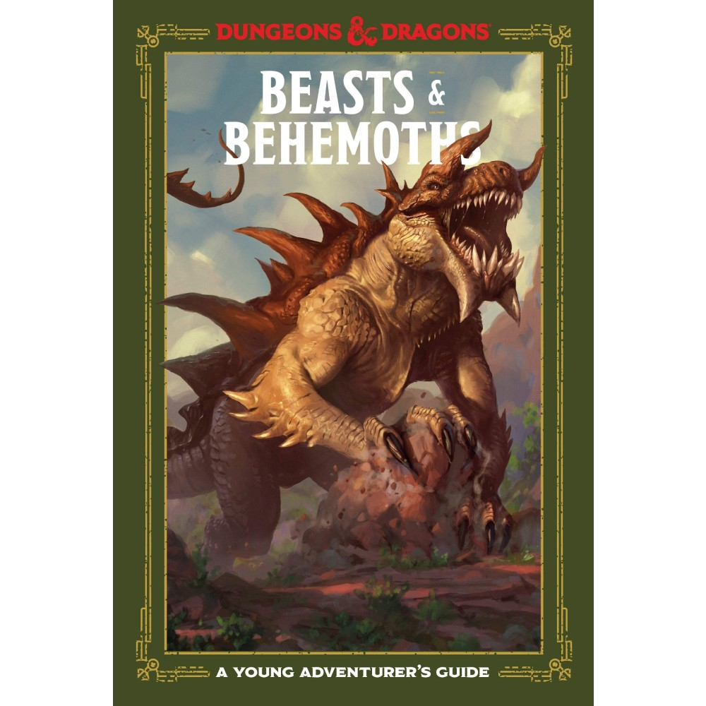 Ghid Dungeons & Dragons Young Adventurer's Guide Beasts & Behemoths