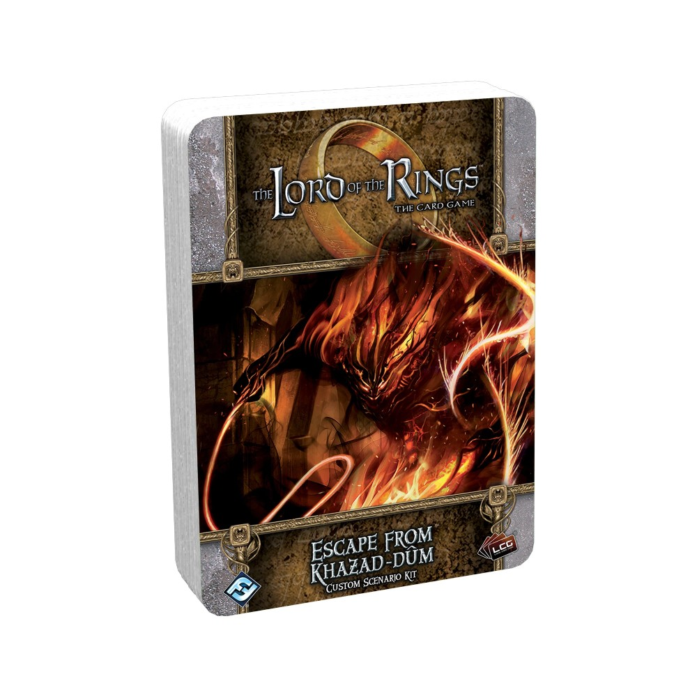 The Lord of the Rings The Card Game – Escape from Khazad-dum Custom Scenario Kit