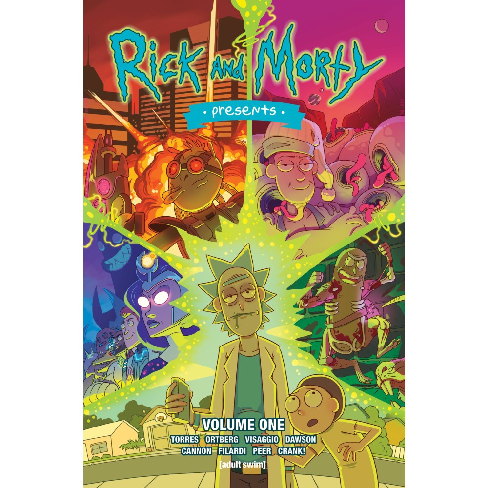 Rick & Morty Presents Vol 01 TP UK Edition
