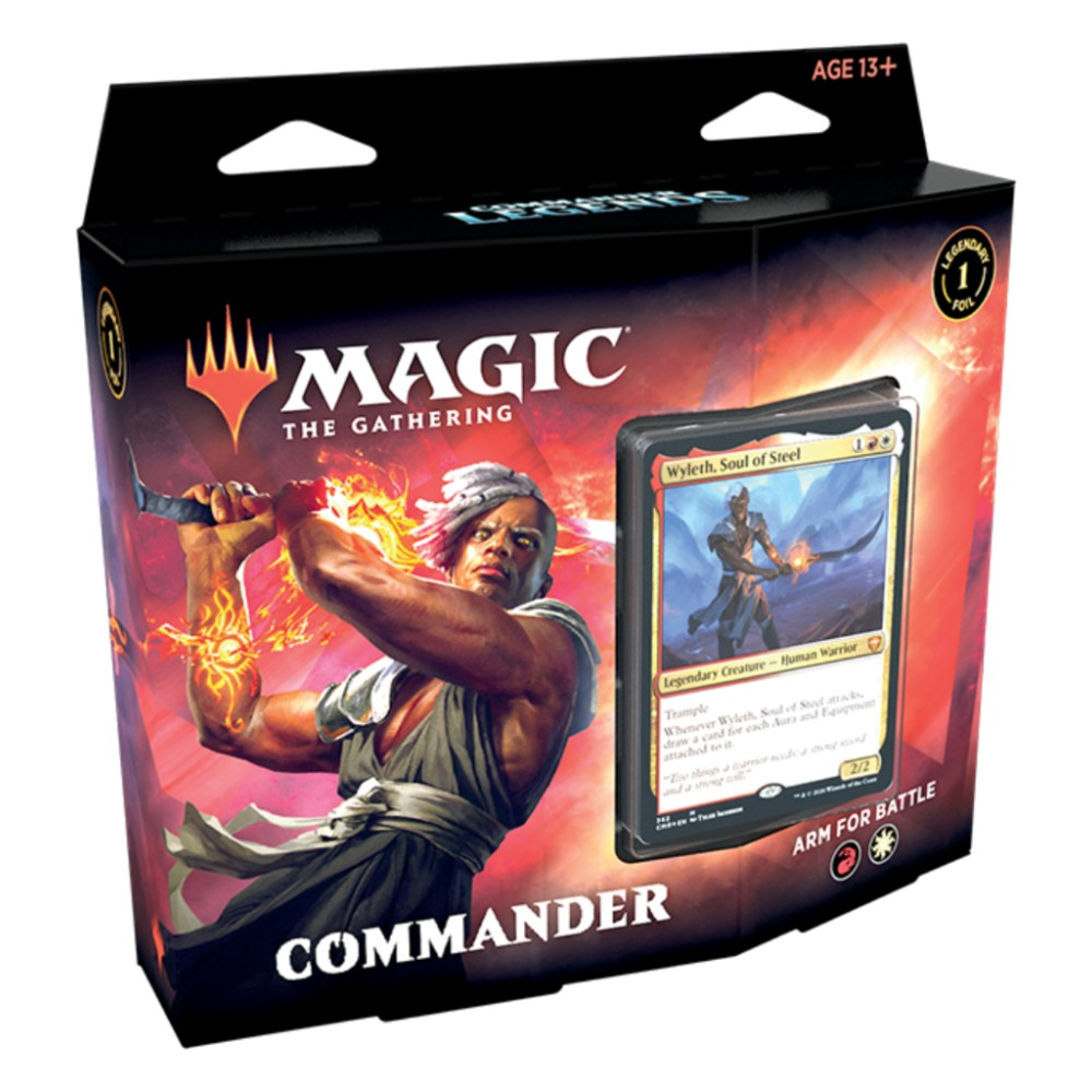Magic the Gathering Commander Legends Commander Deck Arm for Battle