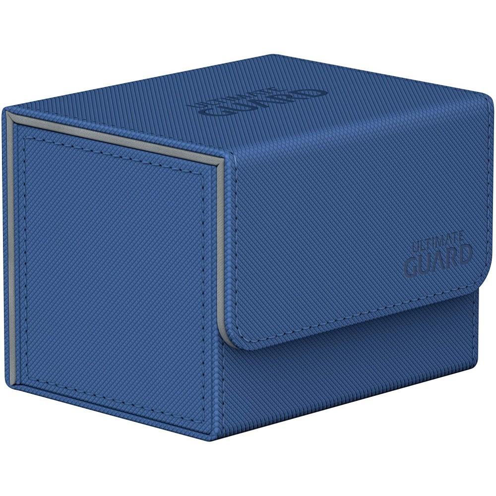 Deck Box Ultimate Guard SideWinder 100+ Standard Size XenoSkin Albastru