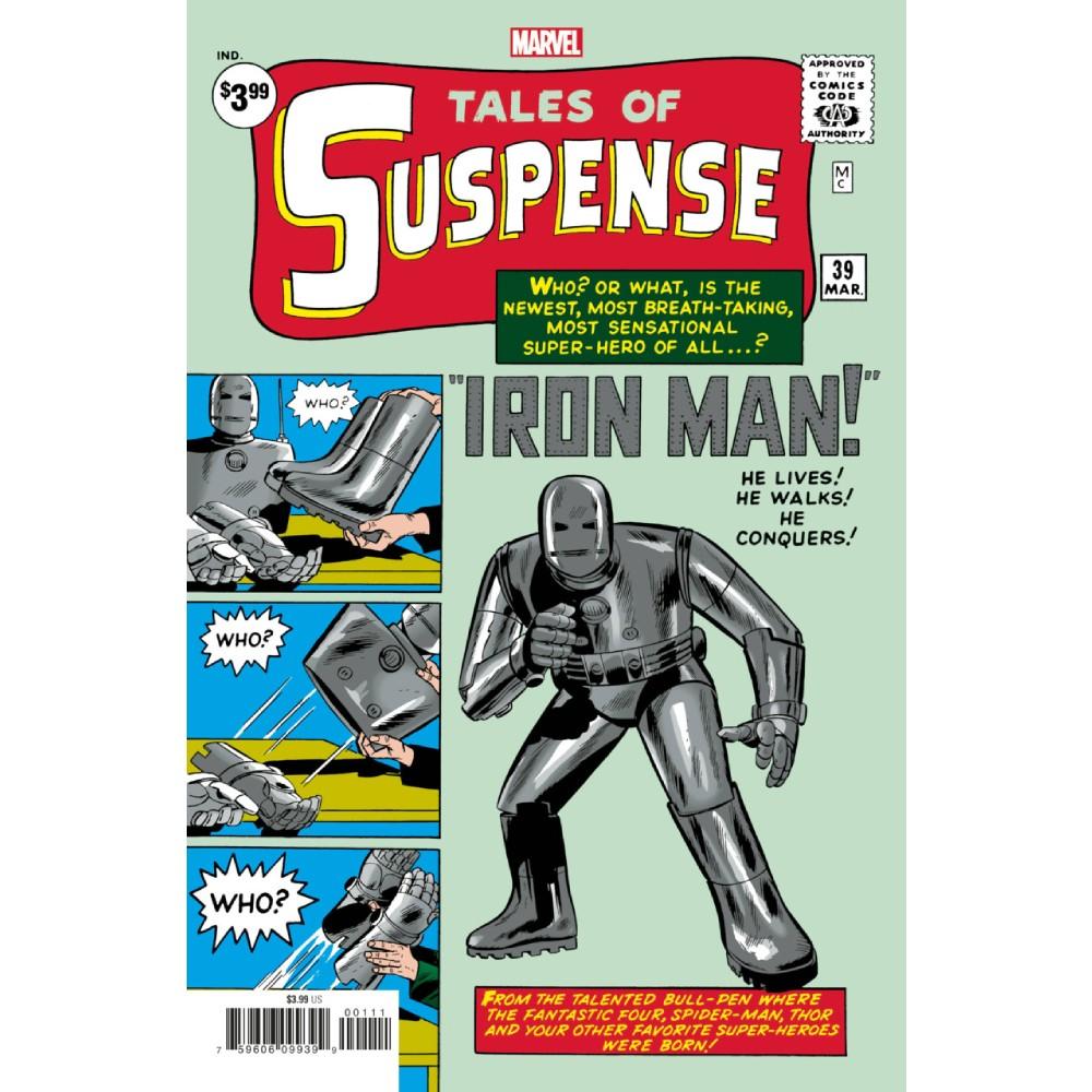Tales of Suspense 39 Facsimile Edition
