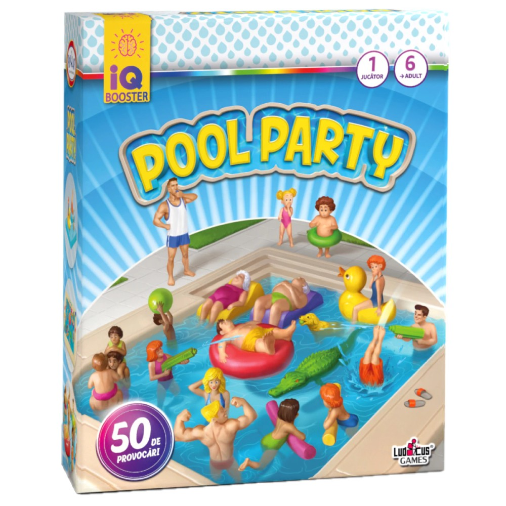 IQ Booster Pool Party Ro