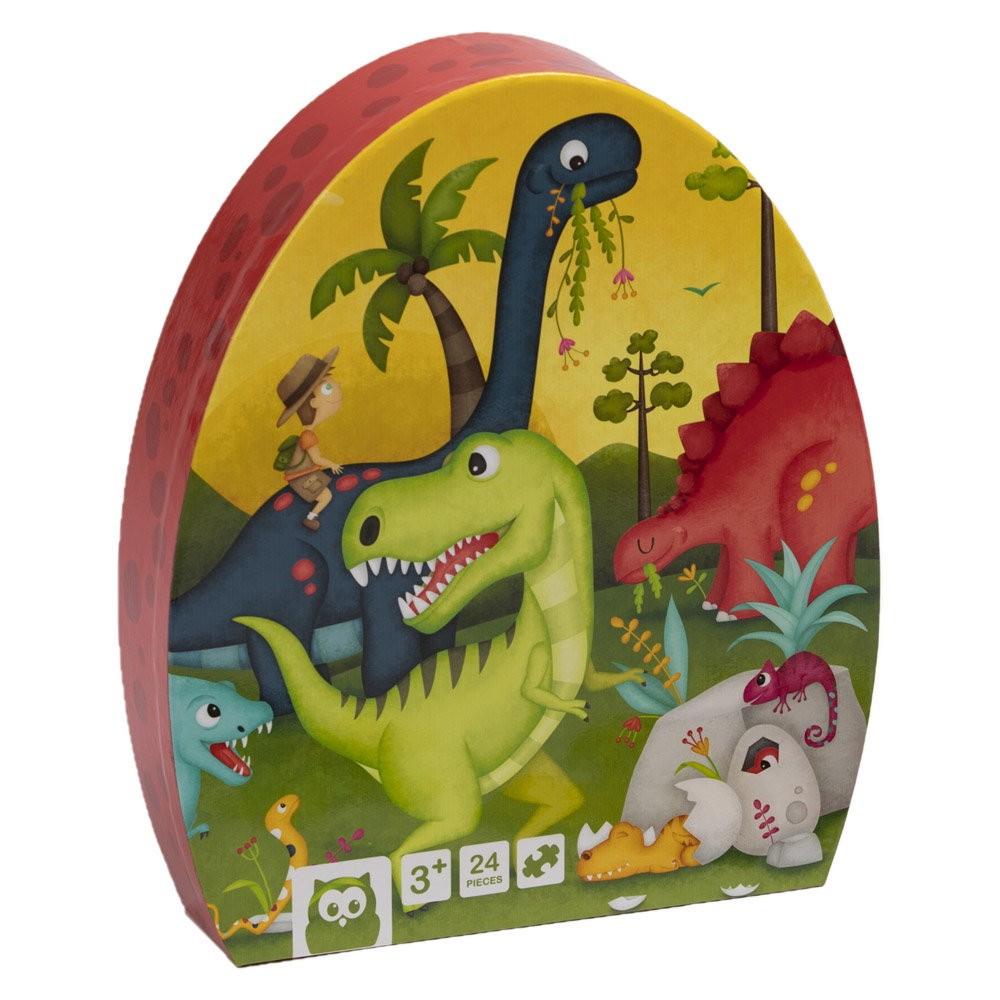 Puzzle Educativ 24 Piese Dinozaur imagine