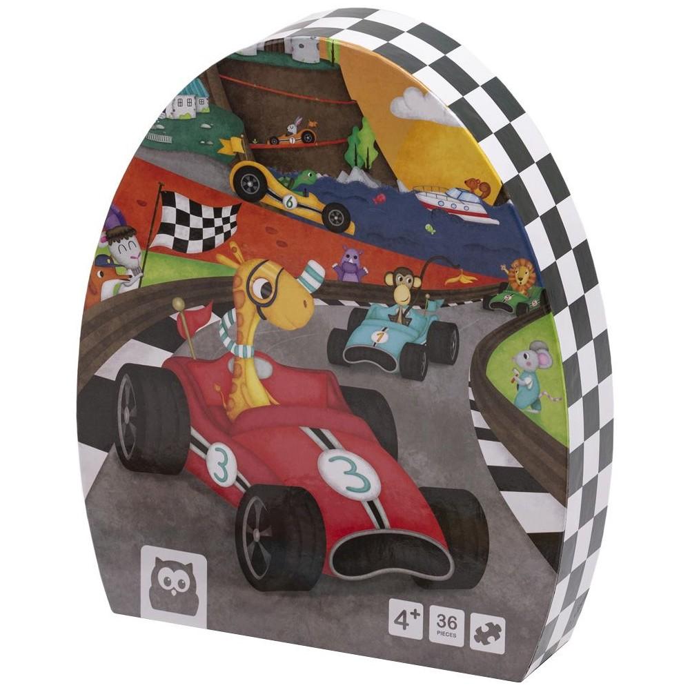 Puzzle Educativ 36 Piese Karting imagine