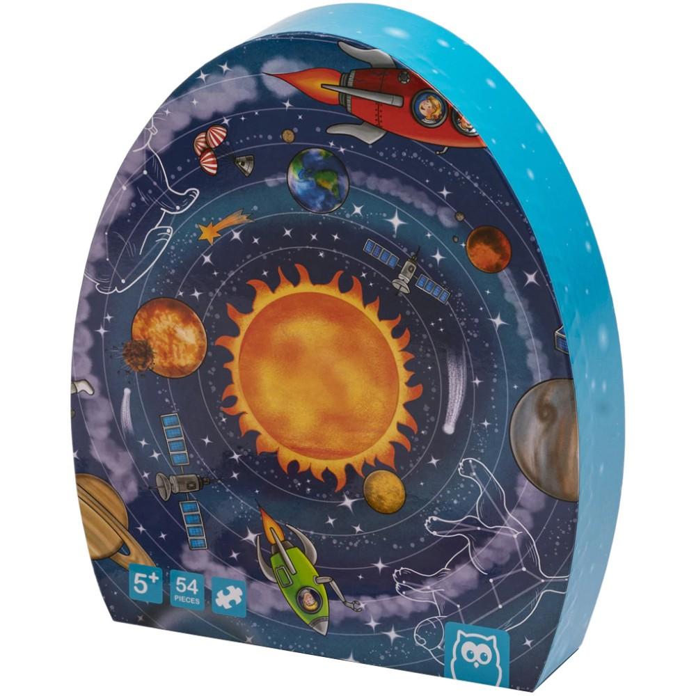 Puzzle Educativ 54 Piese Sistemul Solar imagine