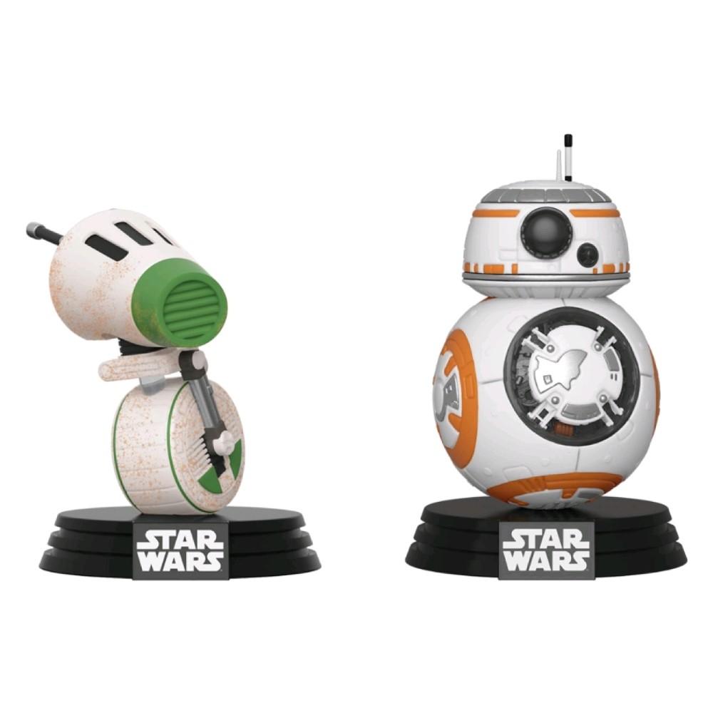 Set 2 Figurine Funko Pop Rise of Skywalker D-O & BB-8