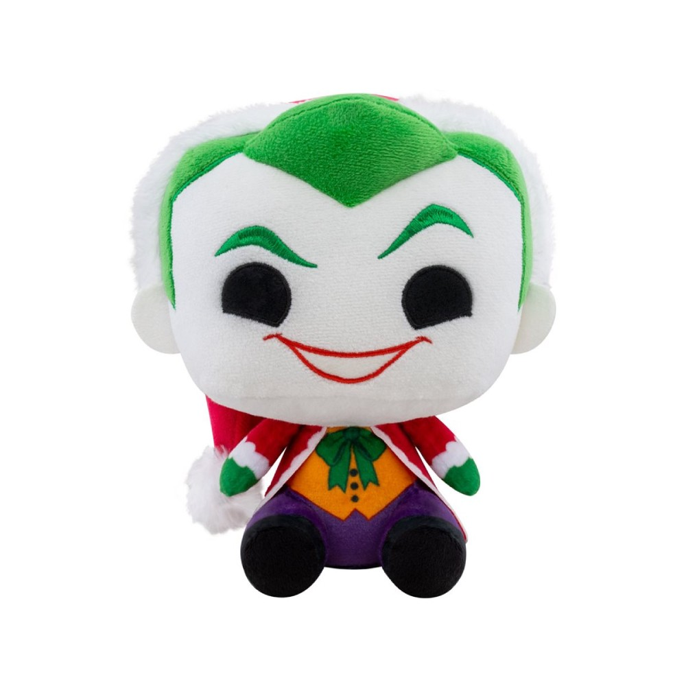 Figurina de Plus Funko Pop Plush DC Holiday Santa Joker