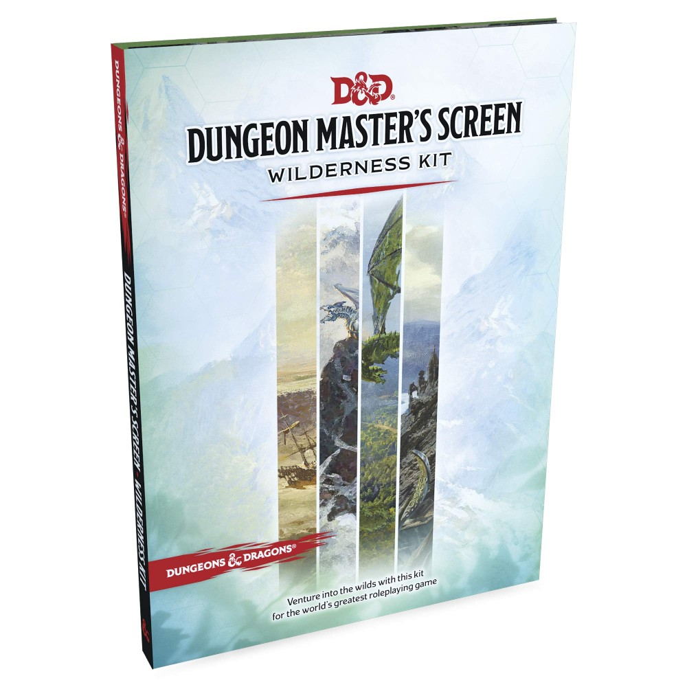 Kit D&D Dungeon Master's Screen Wilderness