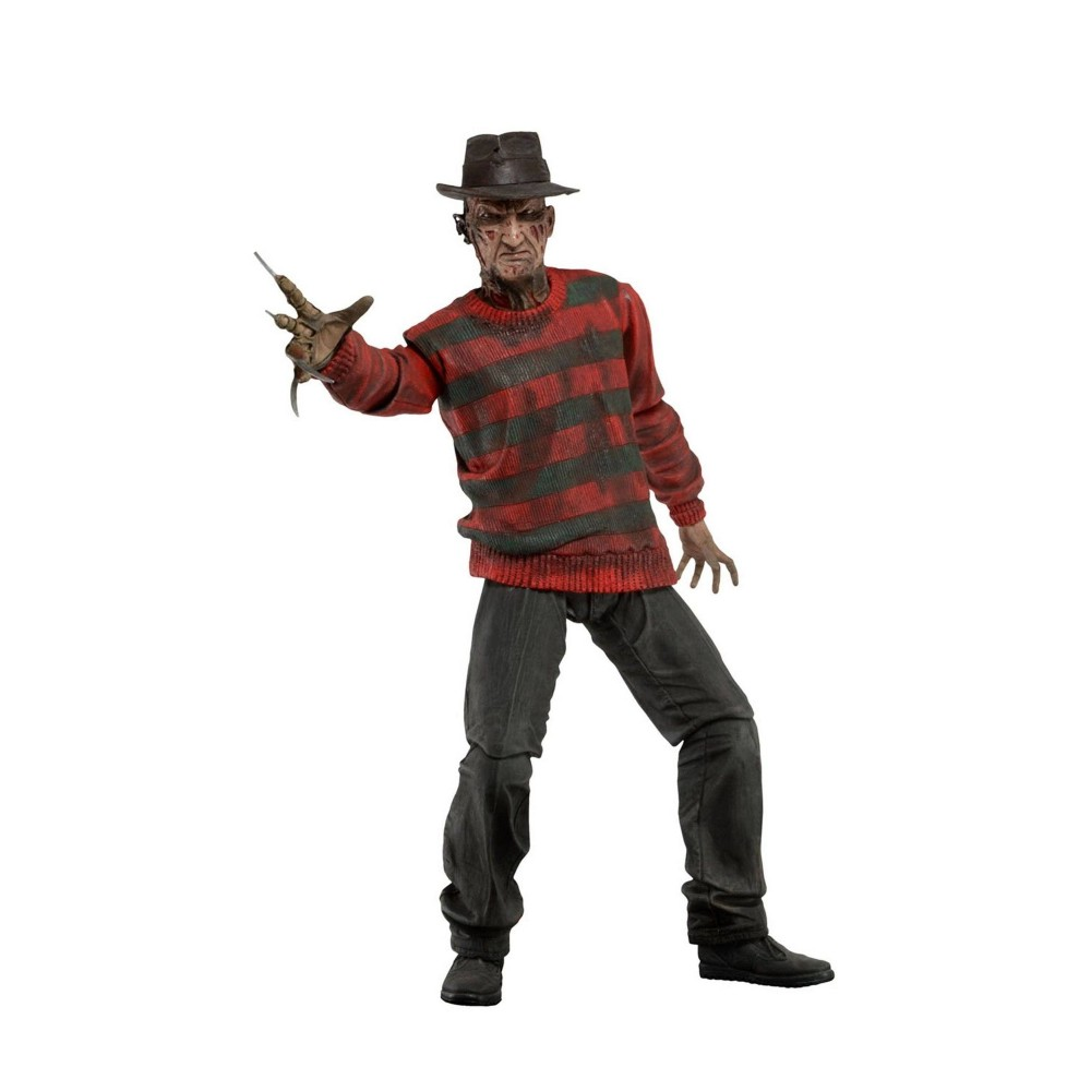 Figurina Articulata Nightmare On Elm Street Freddy Krueger Ultimate Deluxe 18cm