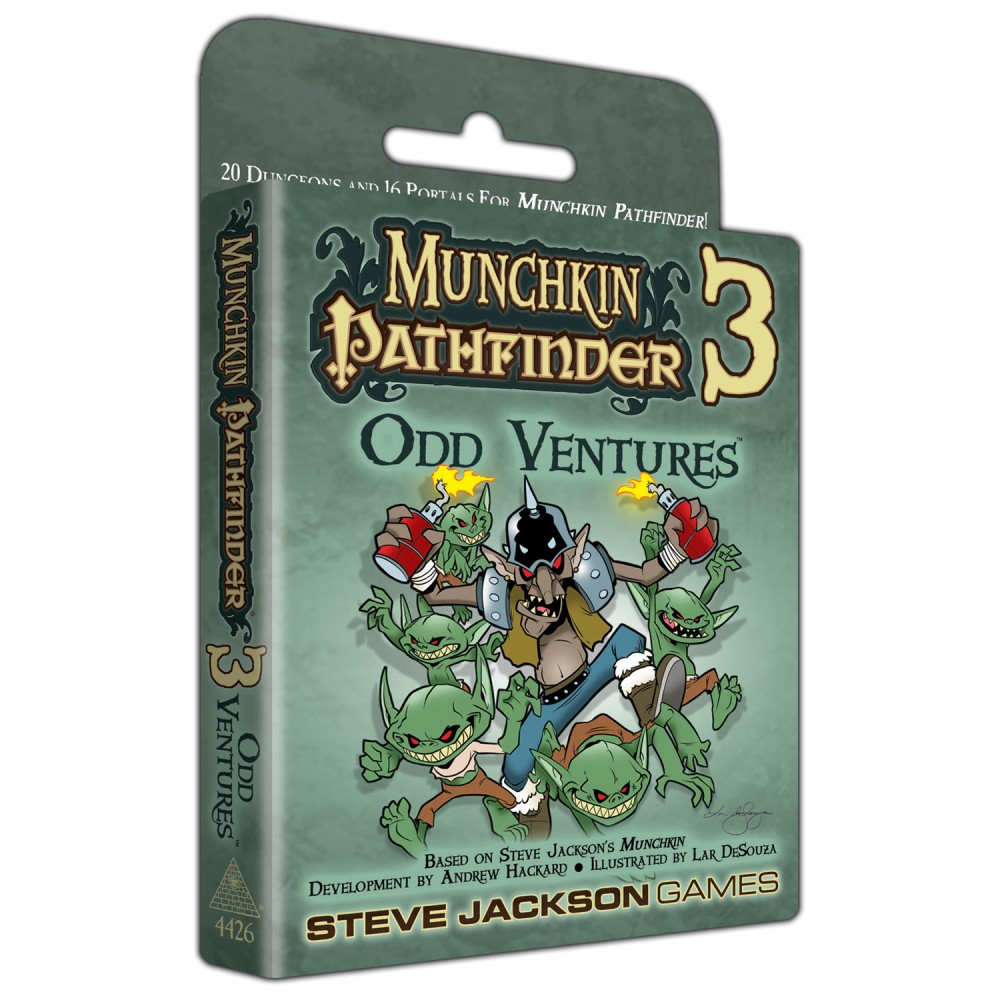 Munchkin Pathfinder 3 – Odd Ventures