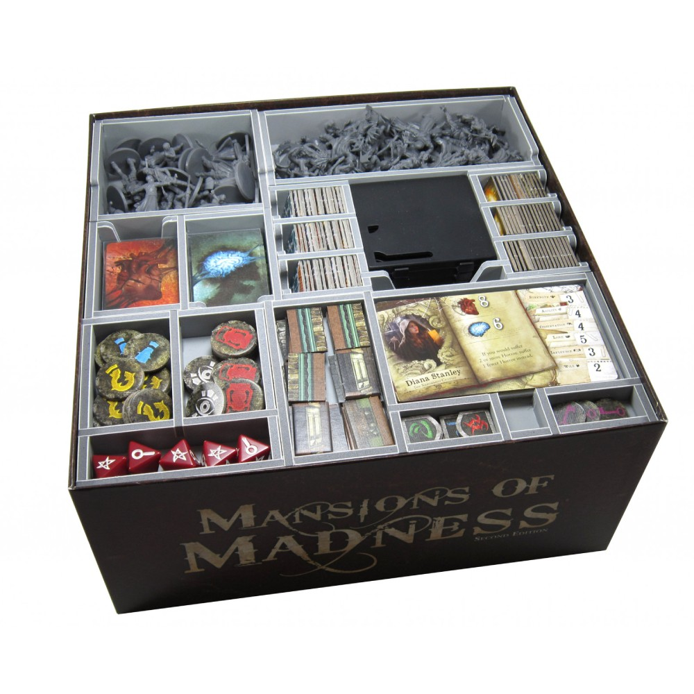 Accesoriu Mansions of Madness 2nd Edition Insert