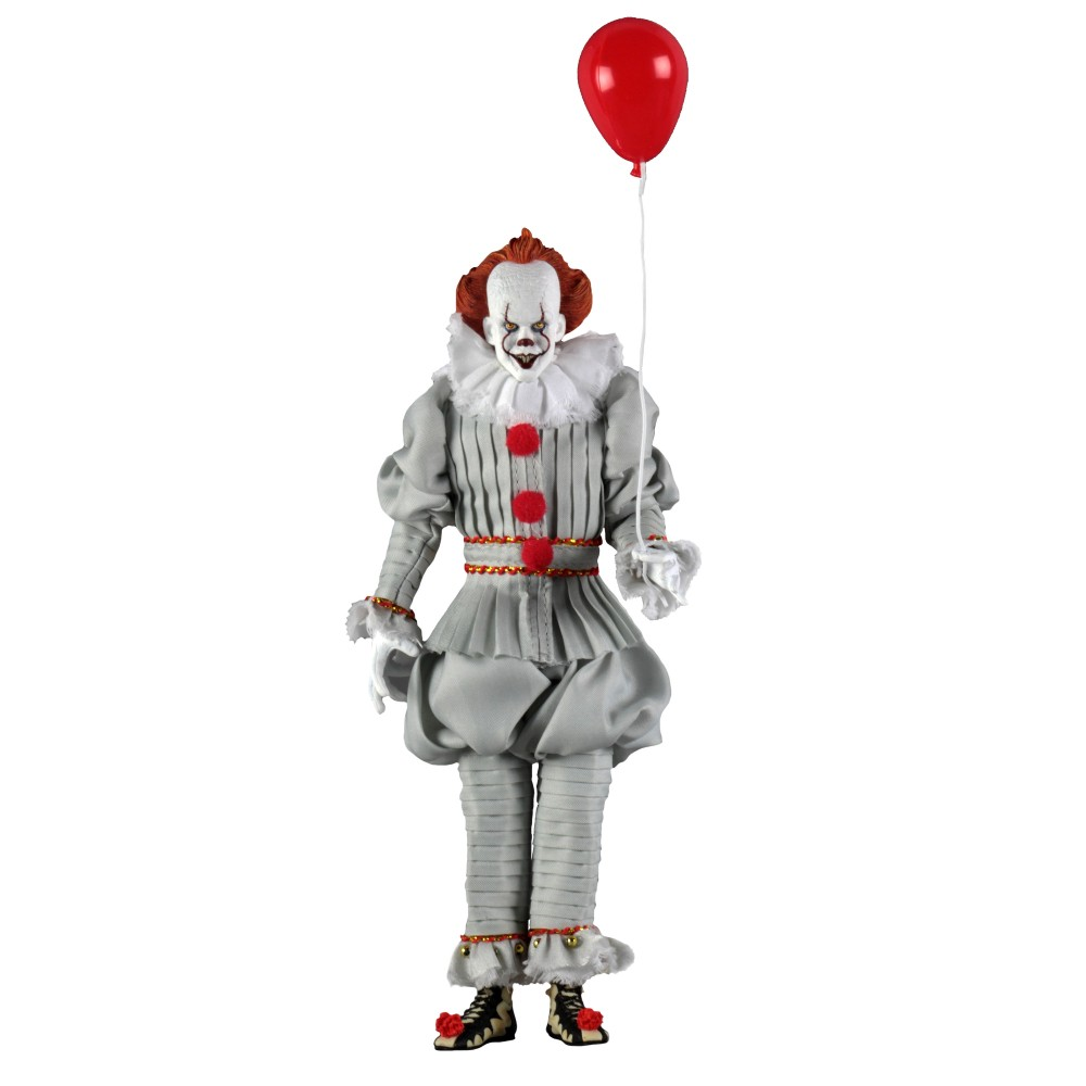Figurina Articulata IT Pennywise (2017) Clothed 20cm