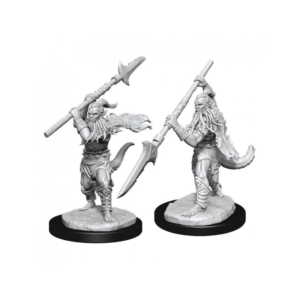 Miniaturi Nepictate D&D Nolzur's Marvelous Bearded Devils (W13)