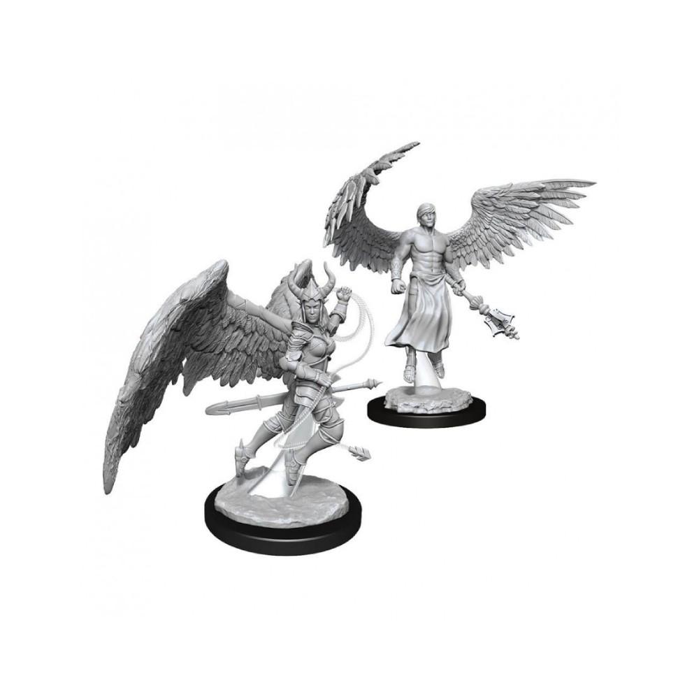 Miniaturi Nepictate D&D Nolzur's Marvelous Deva & Erinyes (W13)
