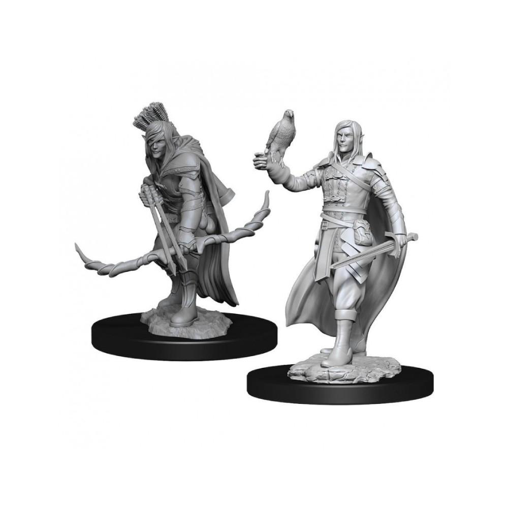 Miniaturi Nepictate D&D Nolzur's Marvelous Elf Ranger Male (W13)