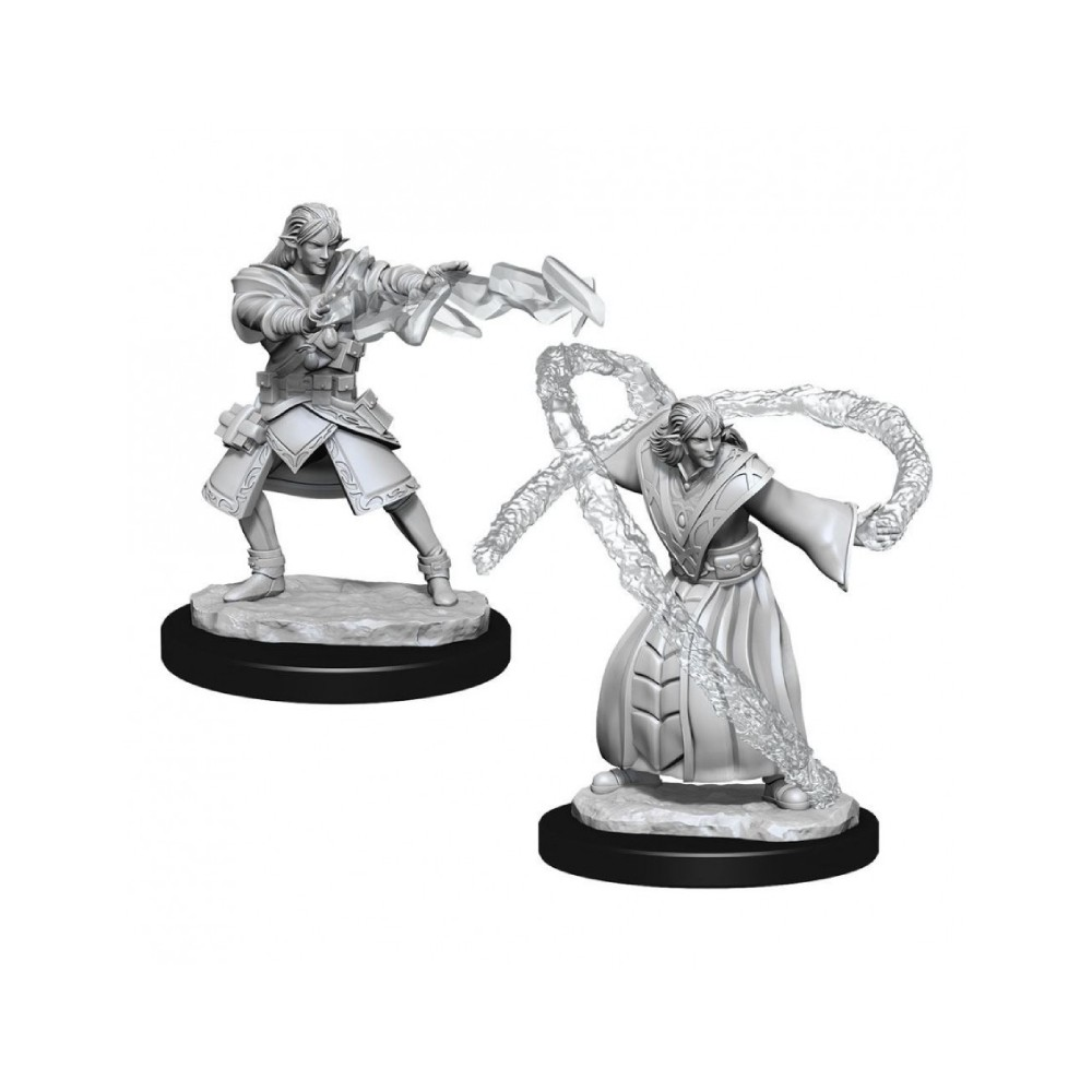 Miniaturi Nepictate D&D Nolzur's Marvelous Elf Wizard Male (W13)