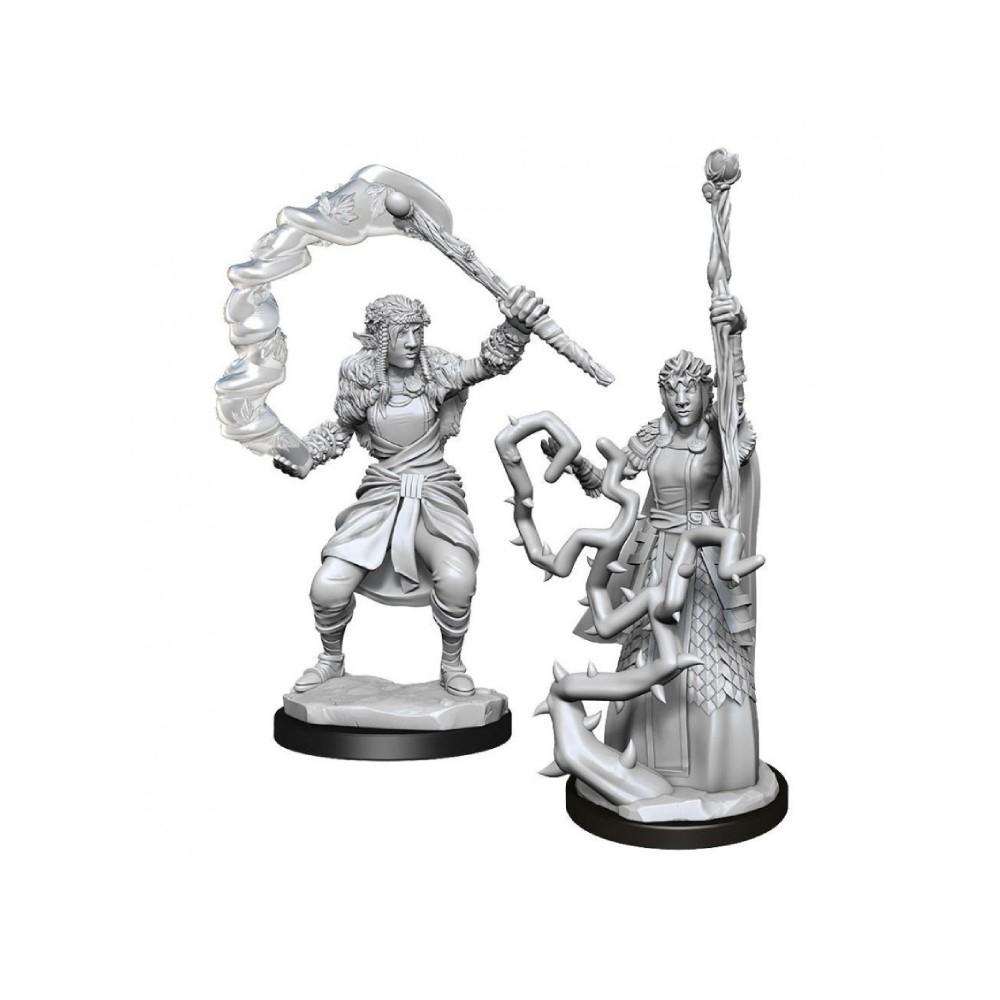 Miniaturi Nepictate D&D Nolzur's Marvelous Firbolg Druid Female (W13)