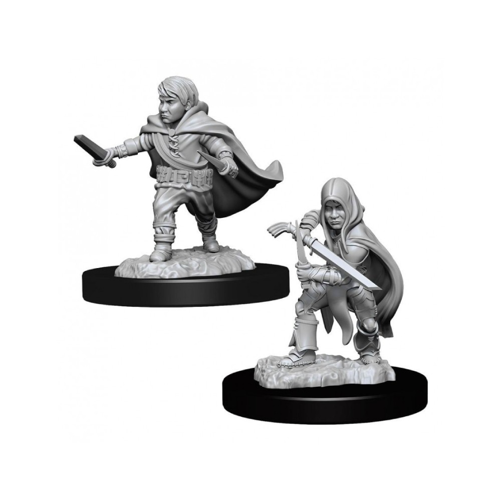 Miniaturi Nepictate D&D Nolzur's Marvelous Halfling Rogue Male (W13)