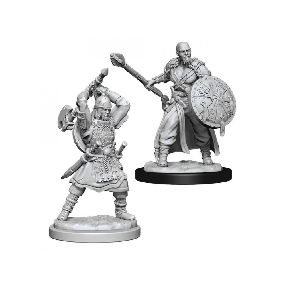 Miniaturi Nepictate D&D Nolzur's Marvelous Human Barbarian Male (W13)