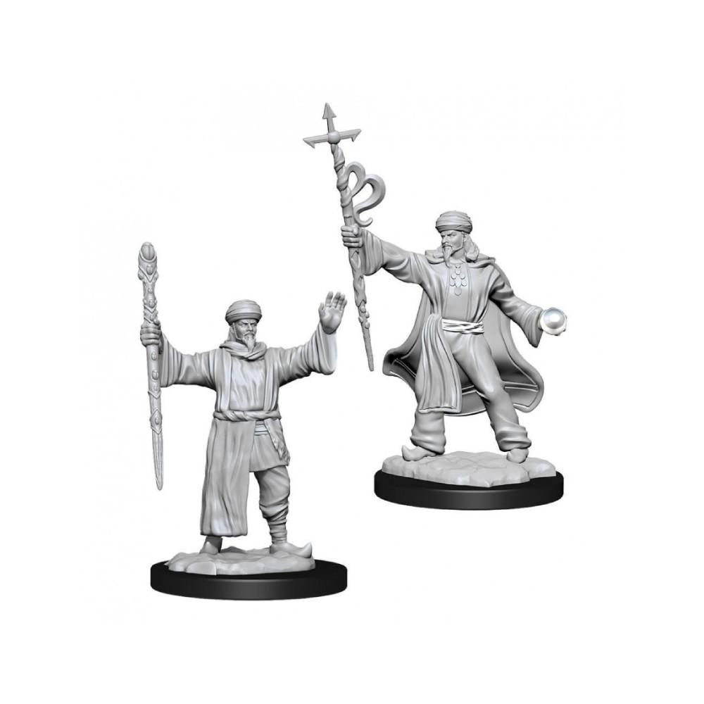 Miniaturi Nepictate D&D Nolzur's Marvelous Human Wizard Male (W13)