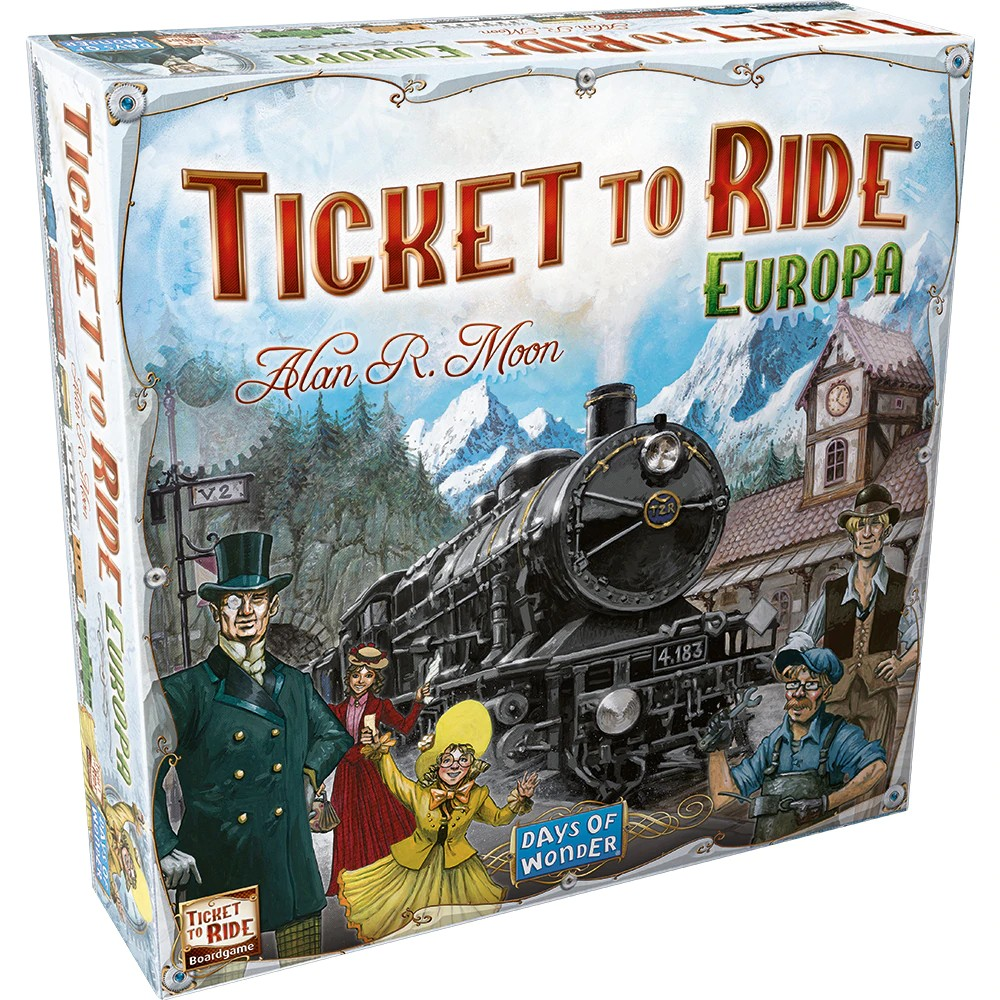 Ticket to Ride Europa (ediție în limba romana)