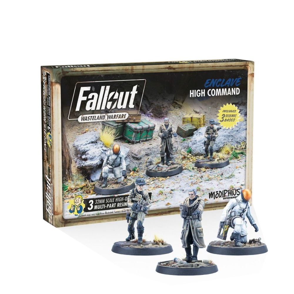 Fallout Wasteland Warfare Enclave High Command