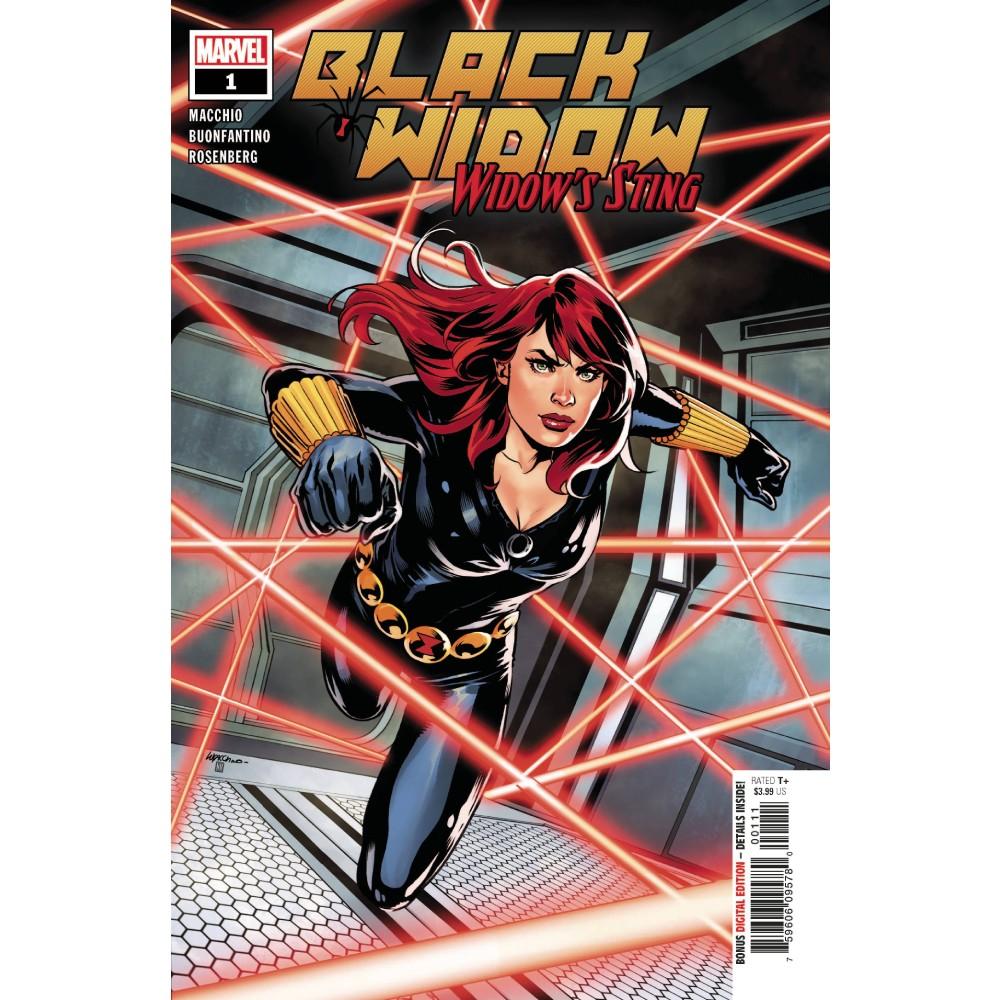Black Widow Widows Sting 01 Coperta A