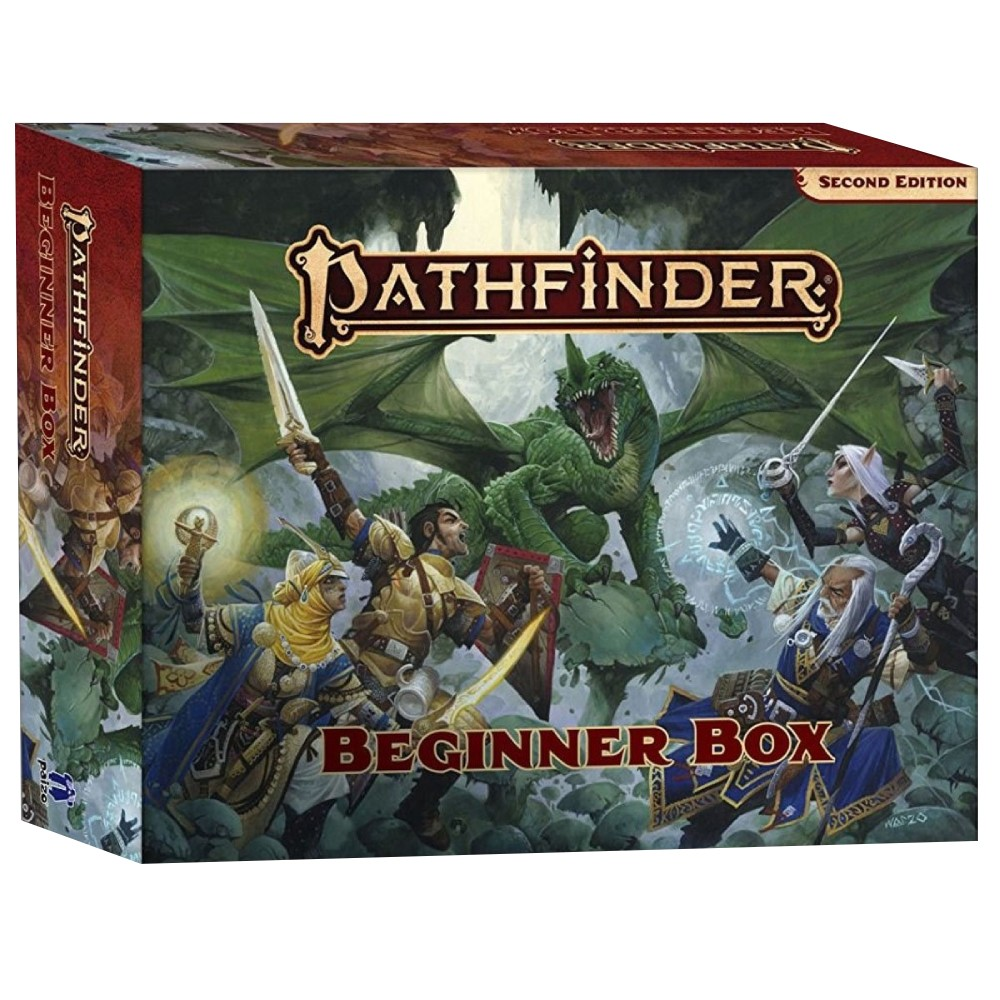 Pathfinder Roleplaying Game Beginner Box (Second Edition)