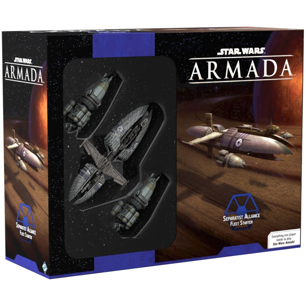 Star Wars Armada Separatist Alliance Fleet