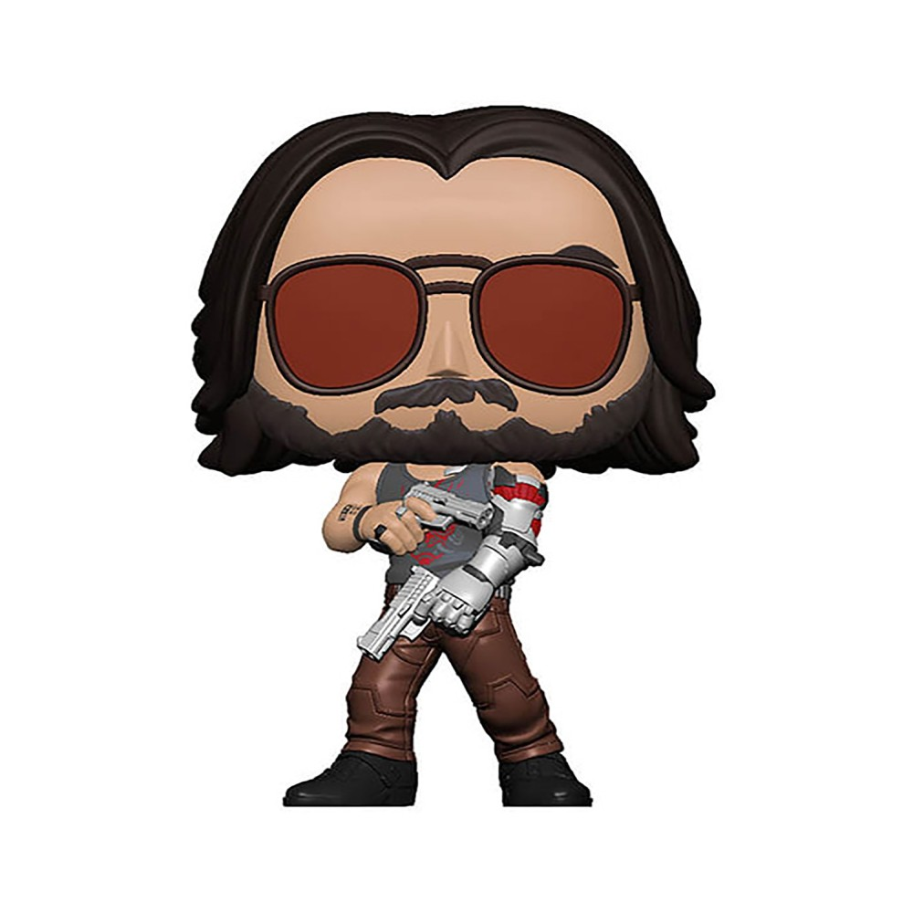 Figurina Funko Pop Cyberpunk 2077 Johnny Silverhand (with Gun)