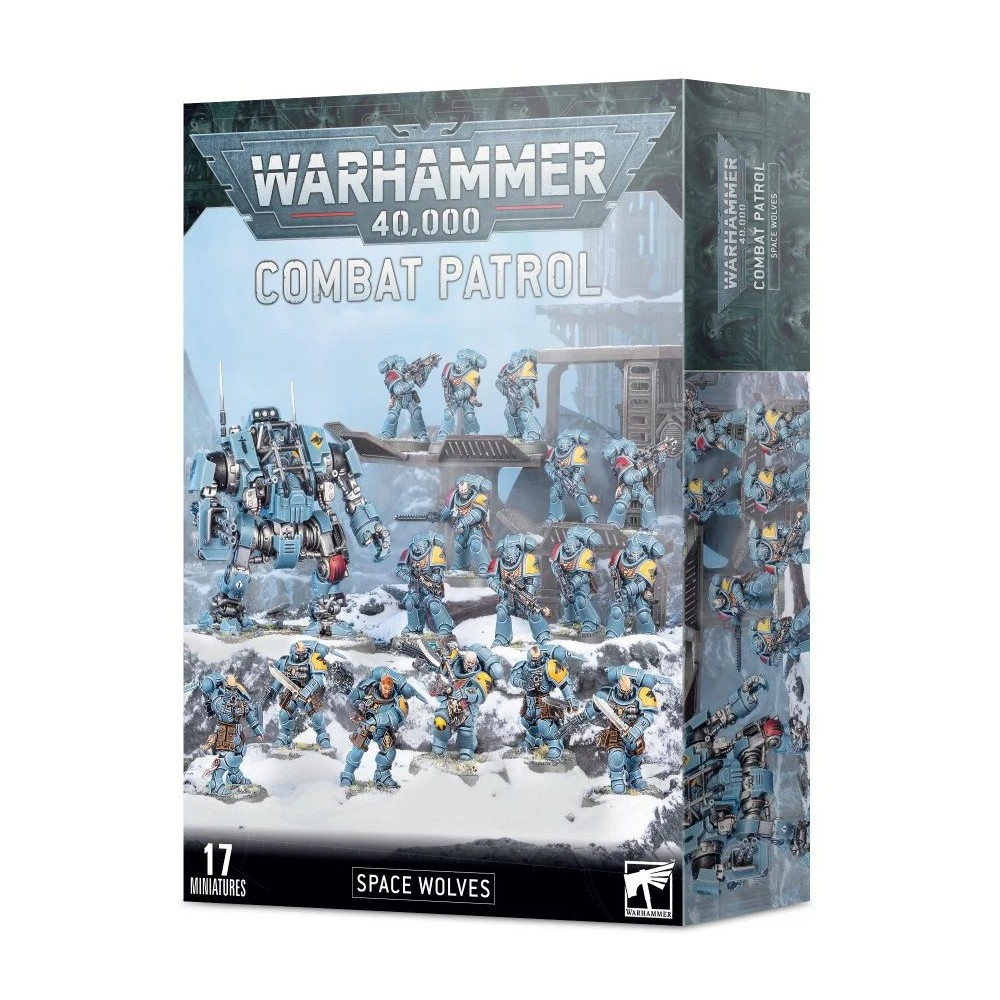 Warhammer 40.000 Combat Patrol Space Wolves