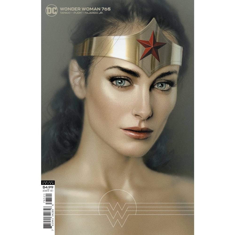 Wonder Woman 765 J Middleton Card Stock var ed