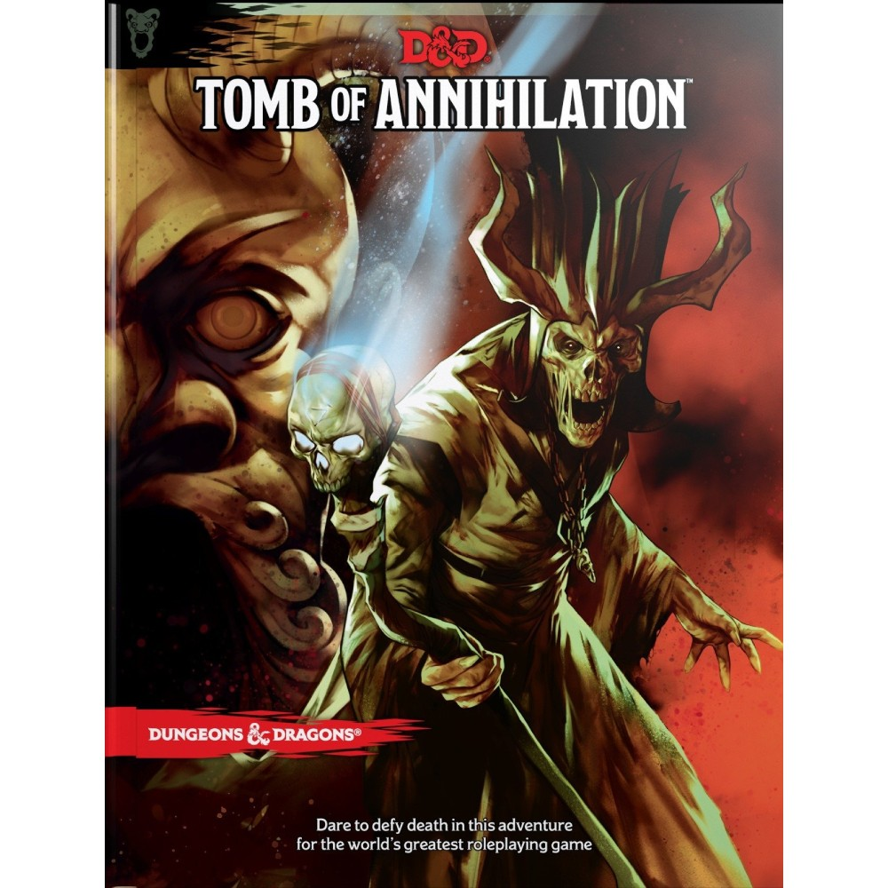 Dungeons & Dragons Tomb of Annihilation DETERIORAT
