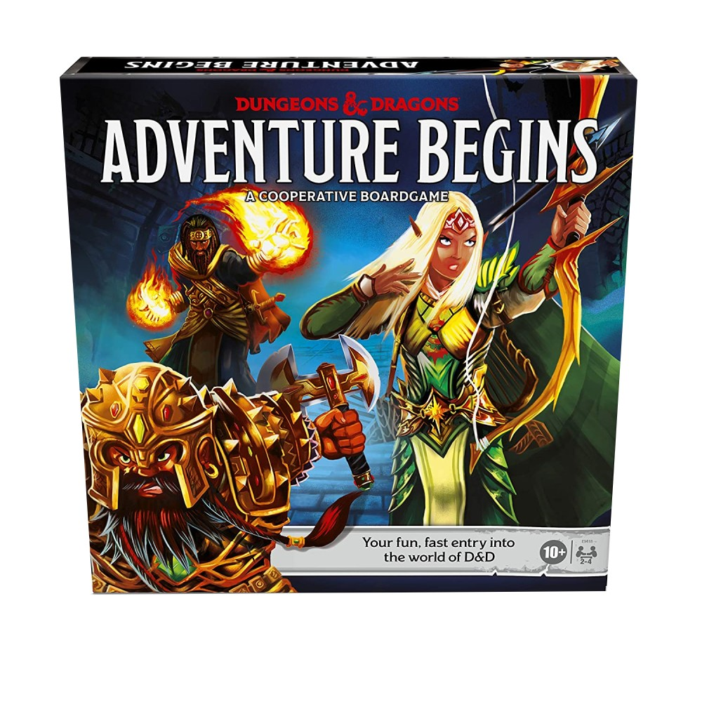 Dungeons and Dragons The Adventure Begins