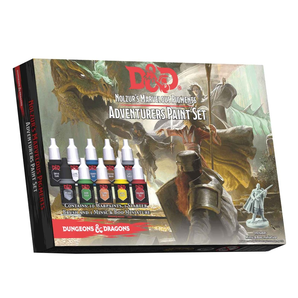 Set Nolzur's Marvelous Pigments Adventurers Paint Set