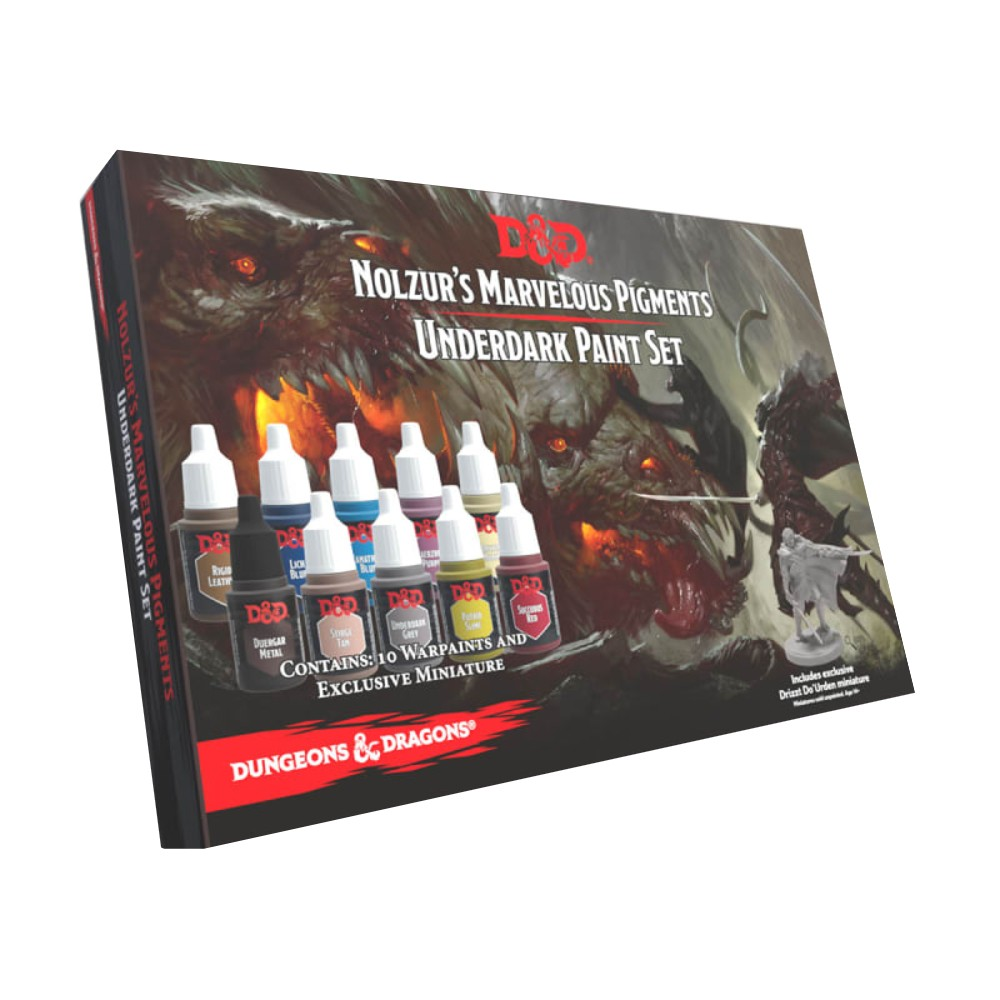 Set Nolzur's Marvelous Pigments Underdark Paint Set