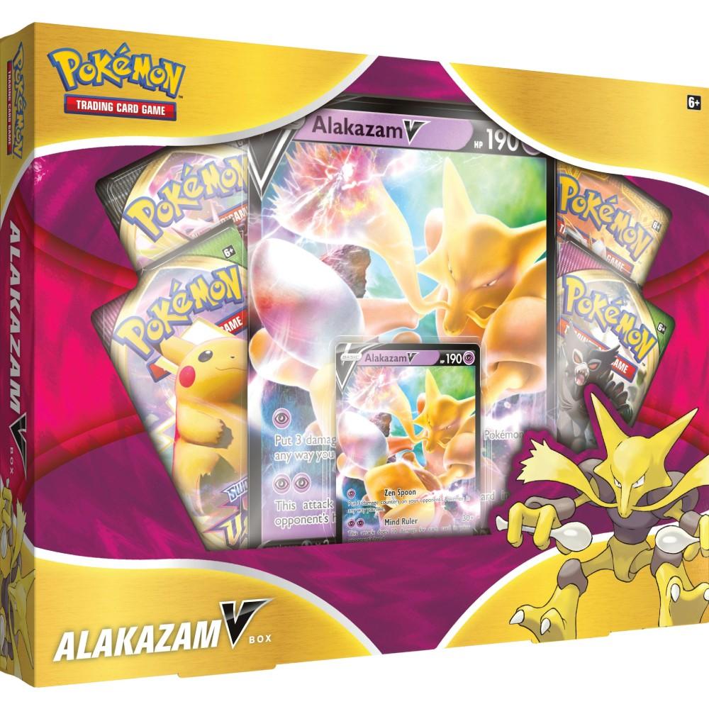 Pokemon Trading Card Game Alakazam January V Box