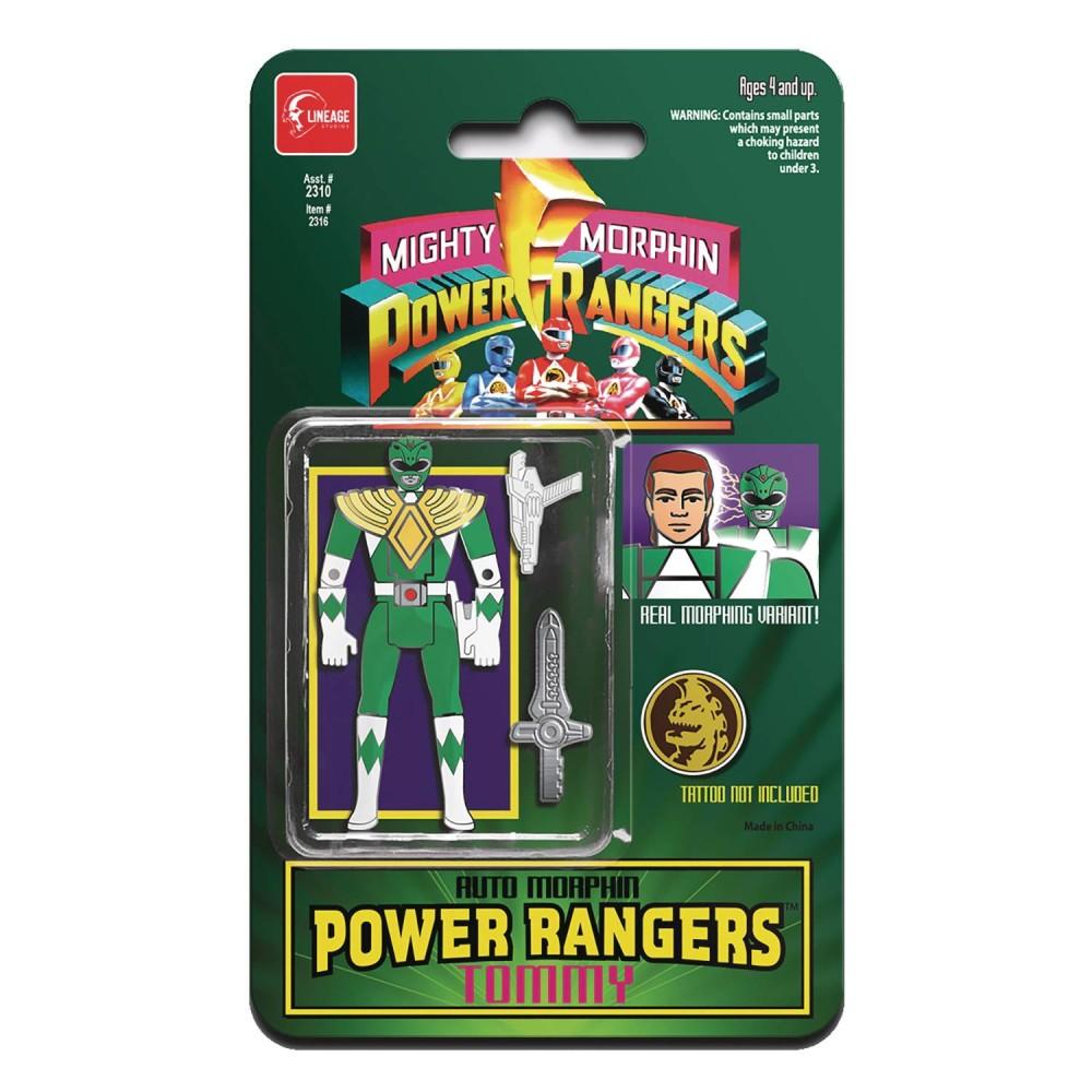 Insigna FCBD 2021 Power Rangers Automorphin Green Ranger Px image0