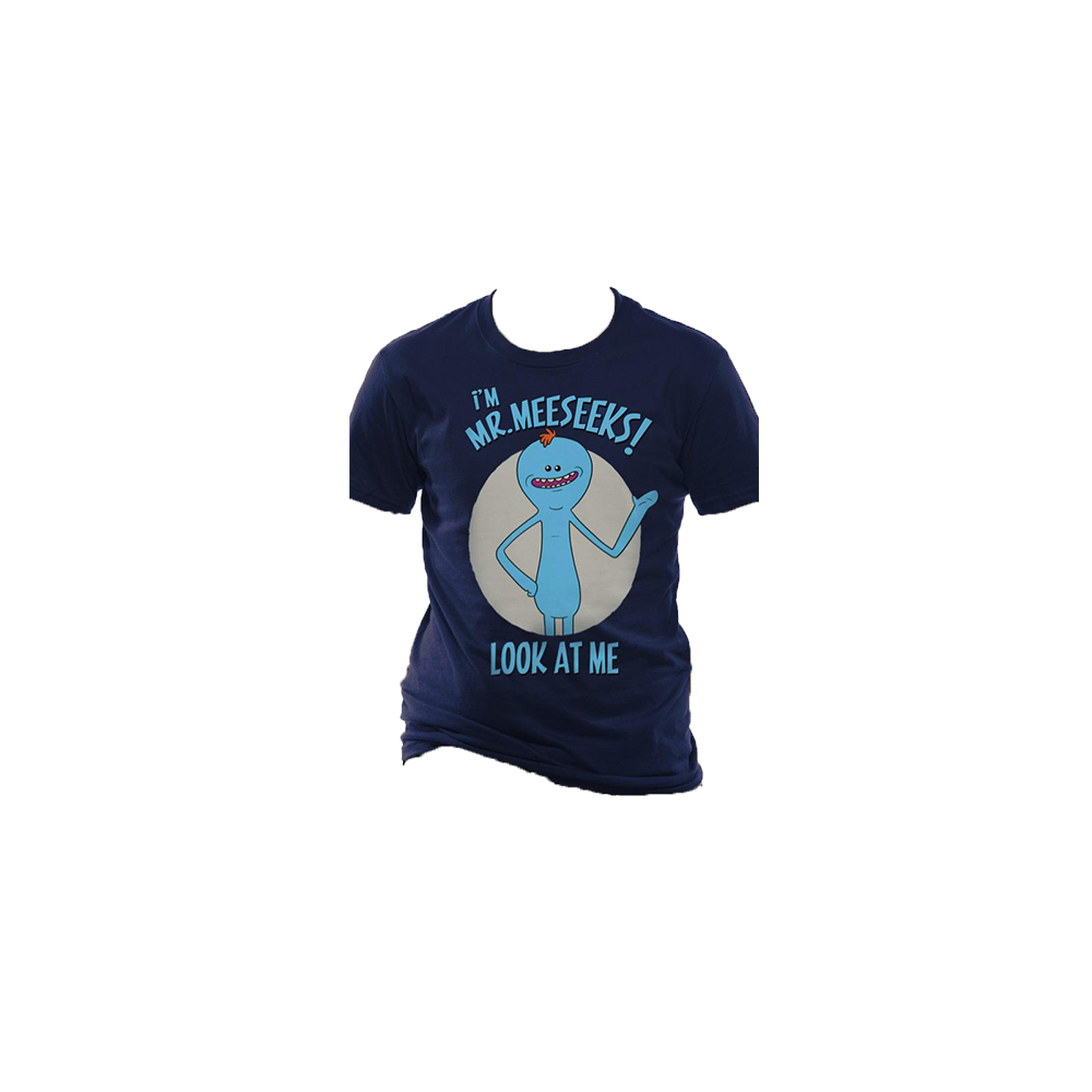 Tricou: Rick and Morty - Mr Meeseeks