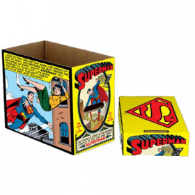 DC Comics Storage Boxes Superman Comic Panel