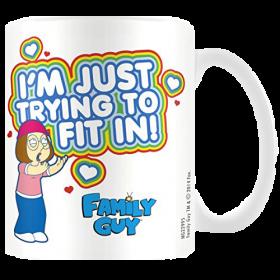 Family Guy Mug Fit In